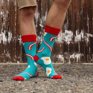 1 Red Cuff, Short-Low Heel and Toe