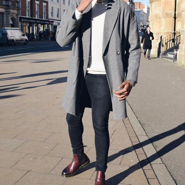 1 With Overcoat