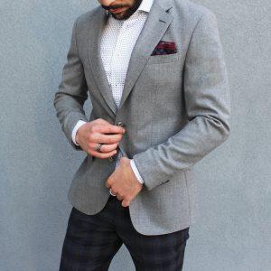 10 A Blazer & Patterned Pants
