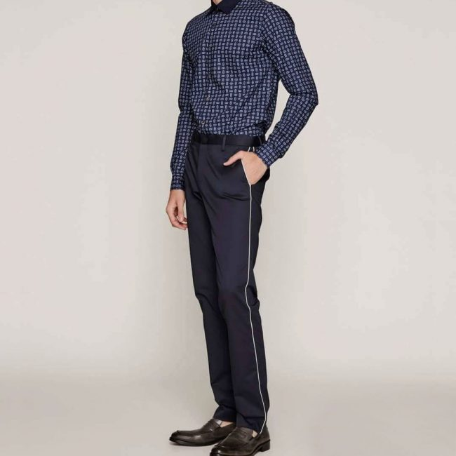 10 Blue Military Inspired Pants