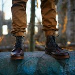 10 Dark Brown Ellington Boots