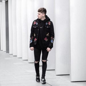 10 Hooded Jacket With Ripped Jeans