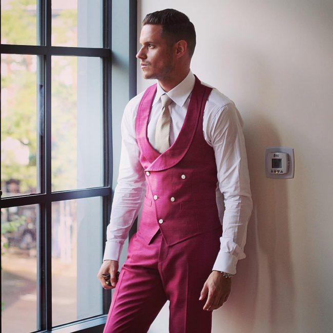 11 A Suit Vest & Matching Trousers