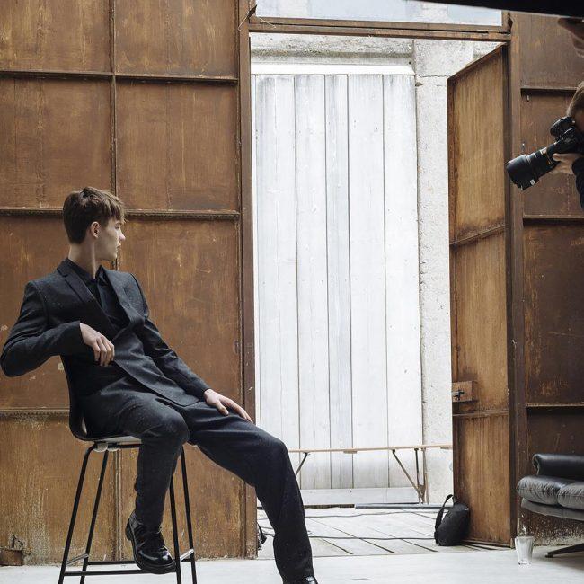 11 Black Reflective Suit Up