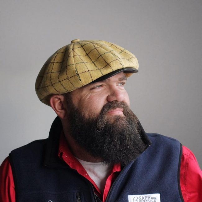 11 Patterned Eight-Panel Beret