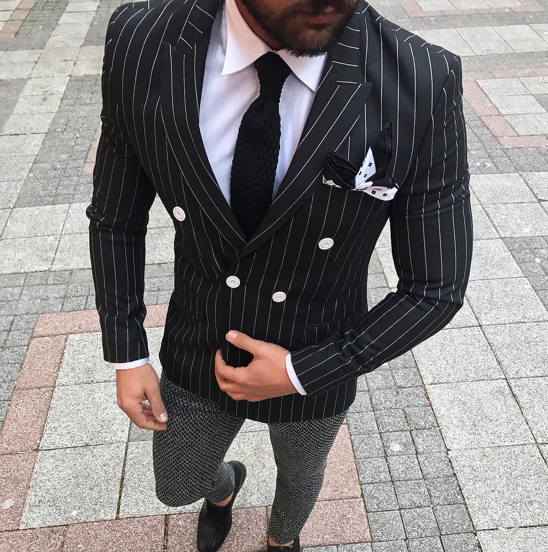 55 Admirable Black and White Suit Ideas , The Perfect Color