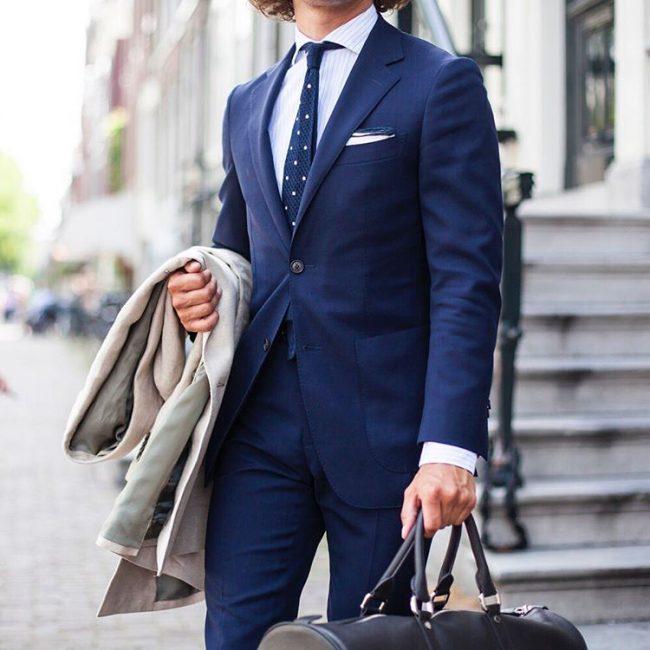 12 Classy Royal Blue Double Button Suit