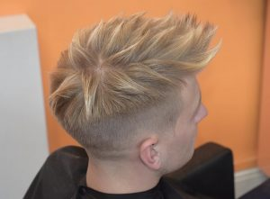 12 Faded Spiky Quiff