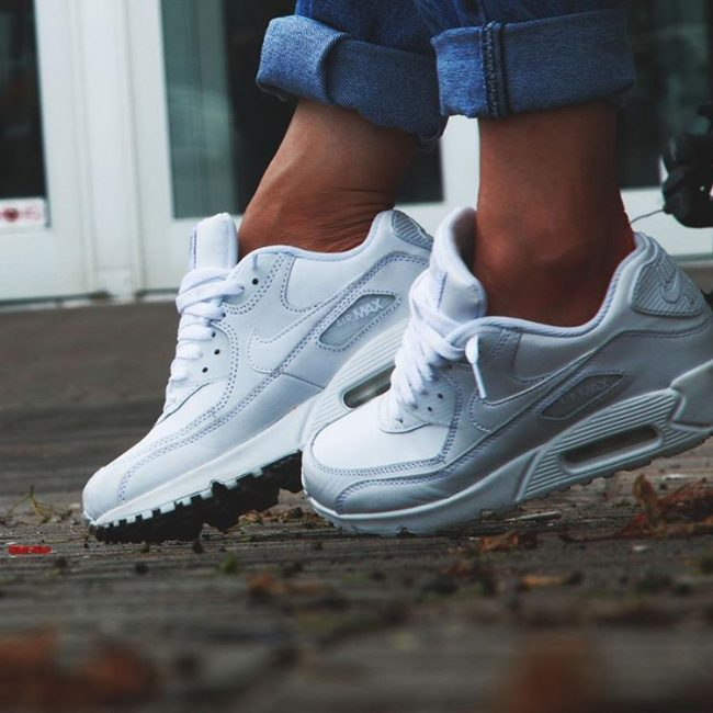 25 Cool All White Air Max Ideas Rocking The Trainers