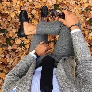 12 Grey Autumn Style