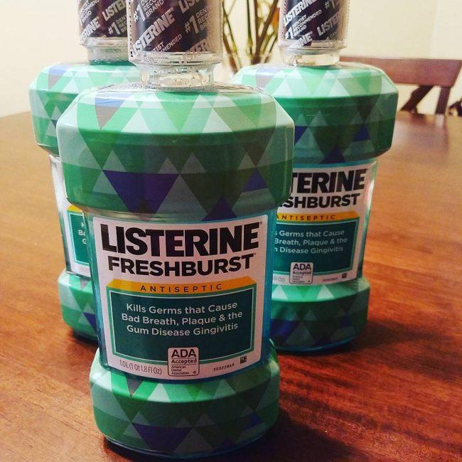12 Listerine