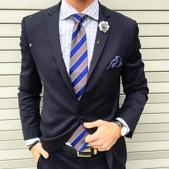 12 Perfectly Accessorized Suit