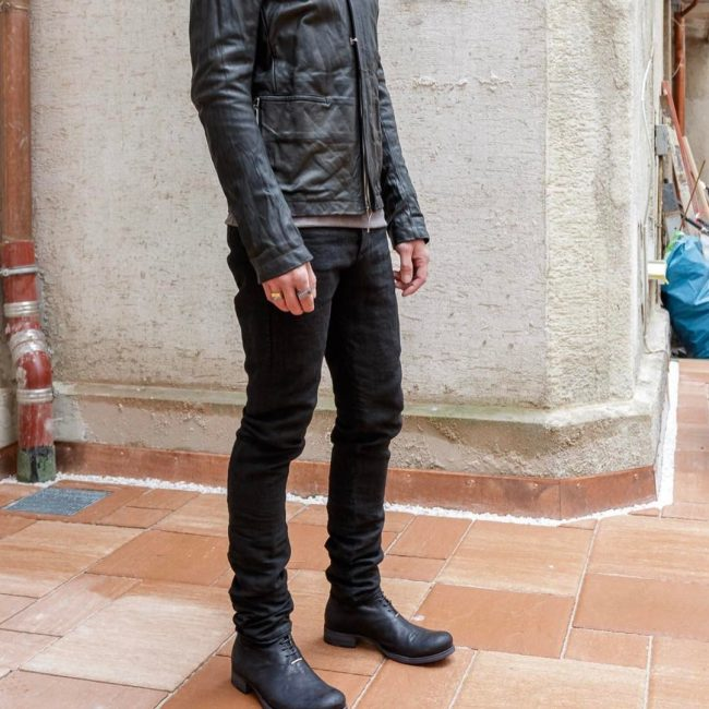 13 Black Cap Toe Boots