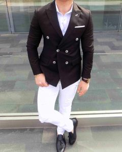 13 Classy Black and White Look