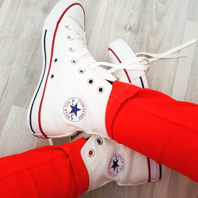 13 Optical White Converse