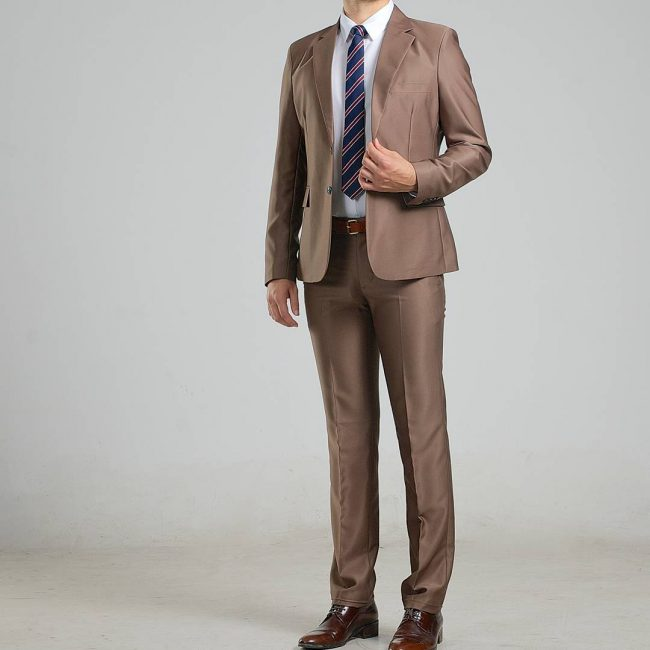 14 Brown Designer Suit