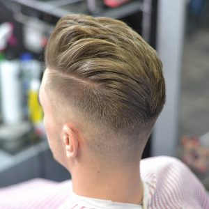 14 Faded High Top Pompadour