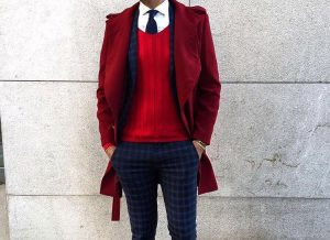 14 Layers with a Checked Suit