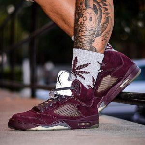 14 The Impressive Burgundy Jordan 5