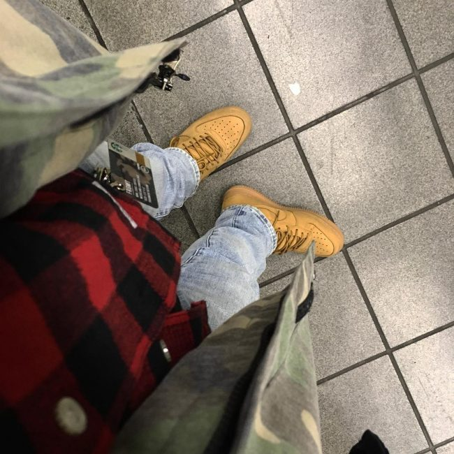 15 Cool Wheat Brown Air Force Kicks