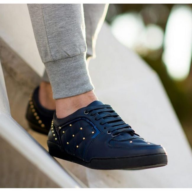 15 Cute Navy Blue Low Tops