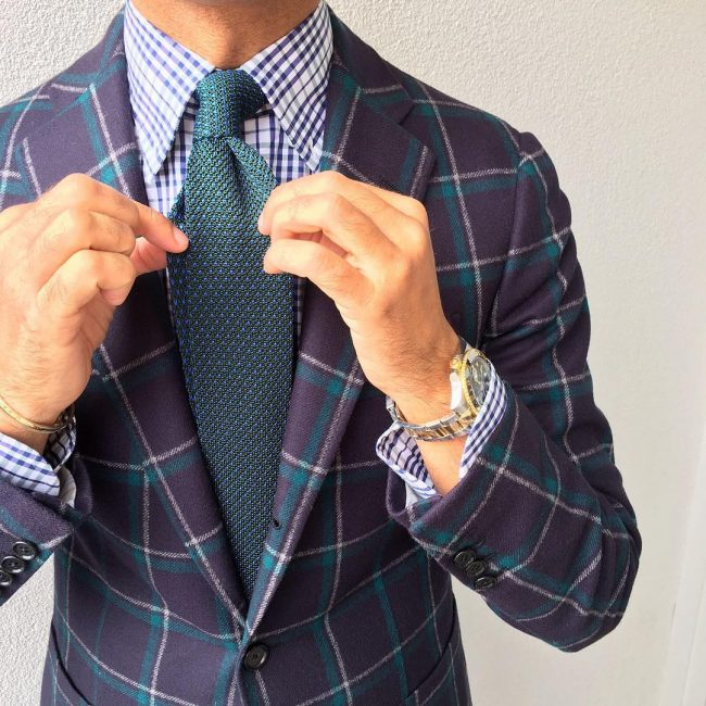 15 Glamorous Check Shirt and Blazer