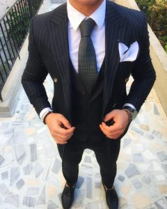 15 Stunning Striped Suit