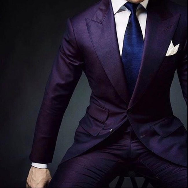 15 Upscale Purple Outfit