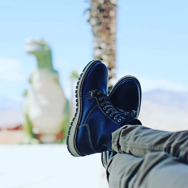 16 Berry Blue Boots