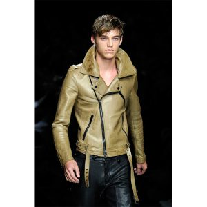 16 Lime Great Leather Coat for Winter