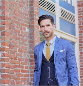 16 Navy Blue Suit Vest