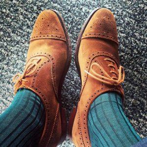 16 Retro Suede Shoes and Bresciani