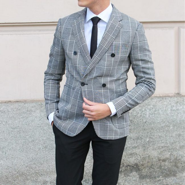 55 Admirable Black and White Suit Ideas - The Perfect Color