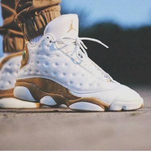 17 Brown on White Sneakers