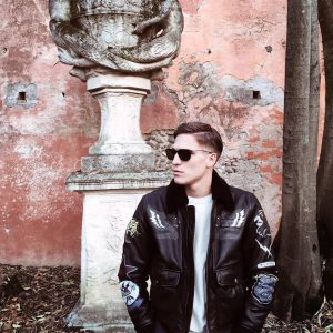 17 Diesel's Pure Black Leather Jacket