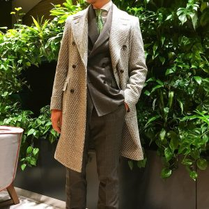 17 Lined Coat Over British Style Suit