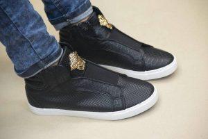 17 Simple Black Versace Kicks