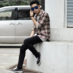 17 Skinny Jeans with Flannel