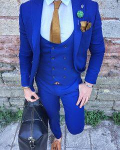 18 Admiral Blue Designer Vest