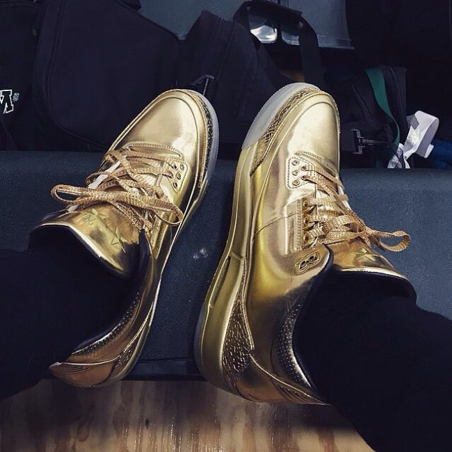 18 All Gold 3s