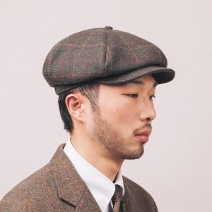 18 Checked Tweed Hat and Jacket