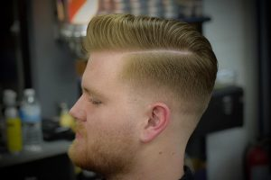 18 Skin Fade Combover