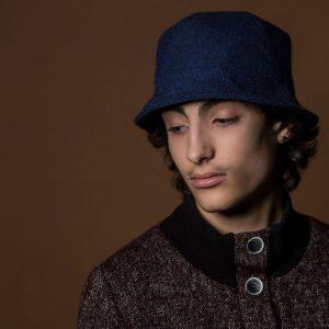 18 The Bad Boy Indigo Hat