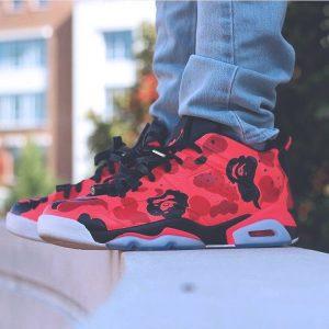 19 Air Jordan 11 in Red