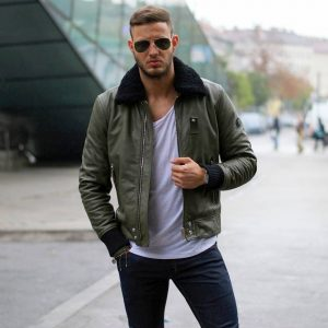 19 Diesel Jacket with Wool Collars