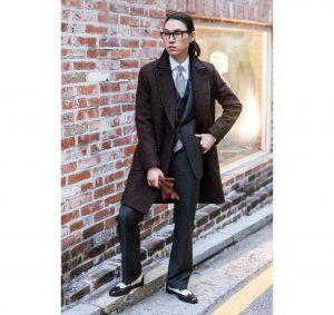 19 Fancy Brown Tweed