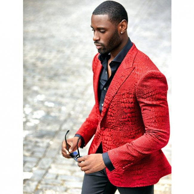 19 Red Luxe Blazer