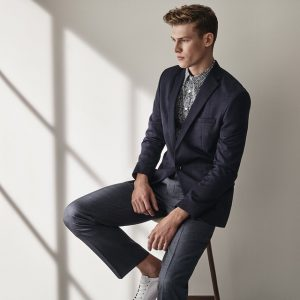 19 Textured Slim-Fit Jacket