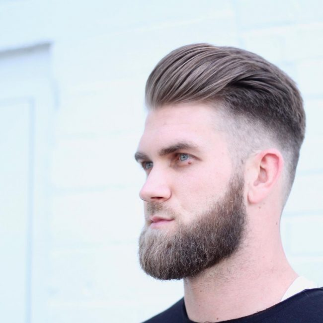 19 Undercut and Tapered Bangs