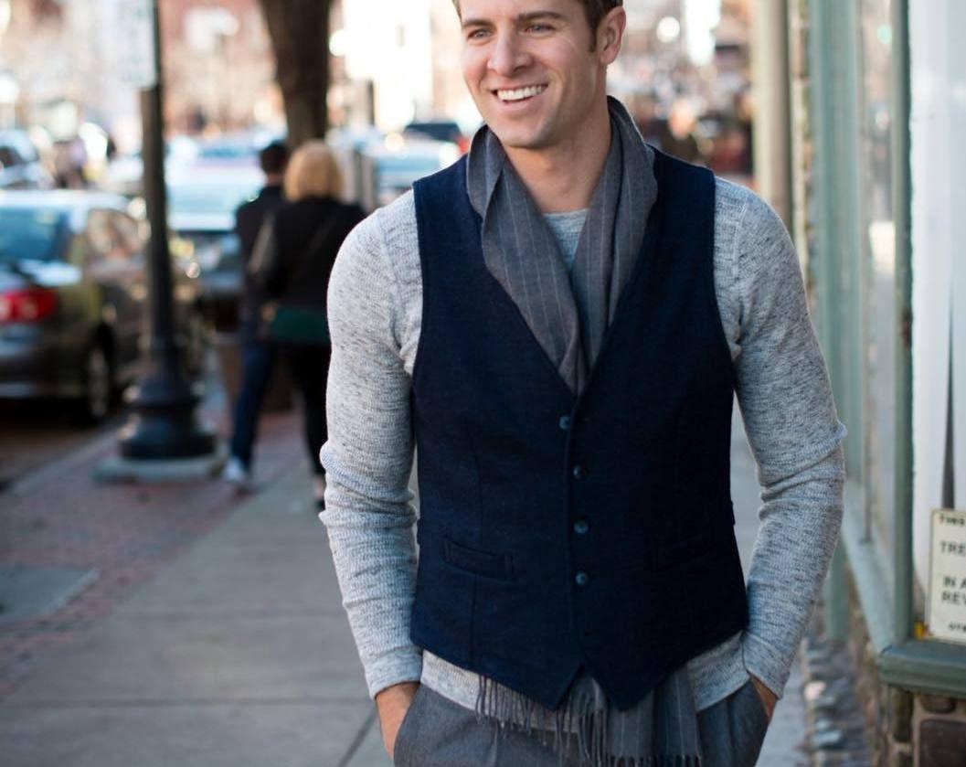 25 Great Ways To Style Black Vest